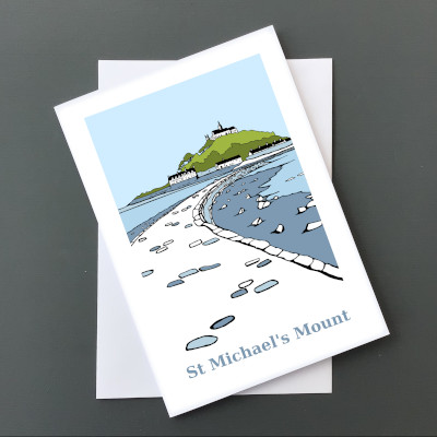 St Michael's Mount Card