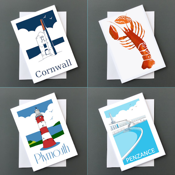 Cornwall/Devon cards