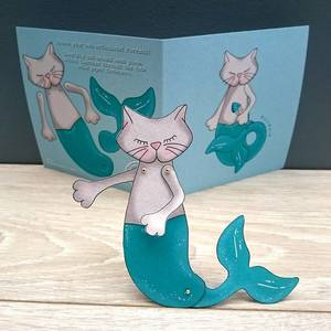 Purrmaid activity card