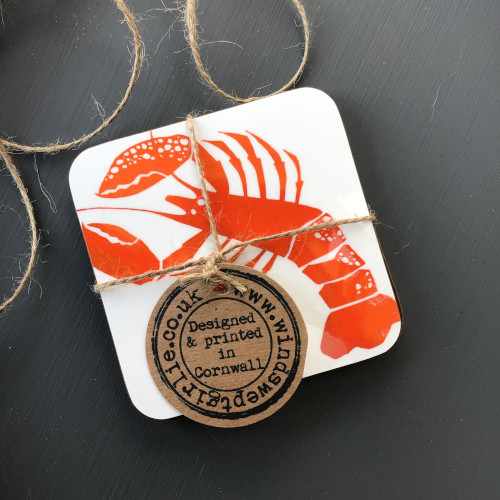 Lobster coaster (pair)