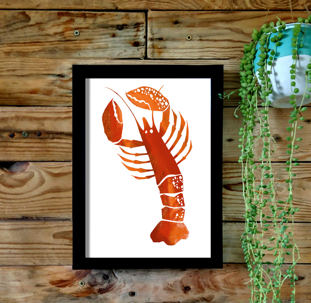 Cornish Lobster Print